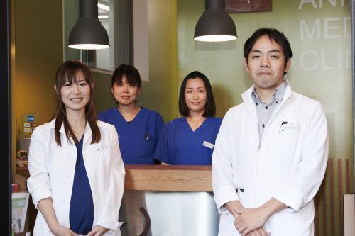 動物看護師募集・30代が中心の職場です。