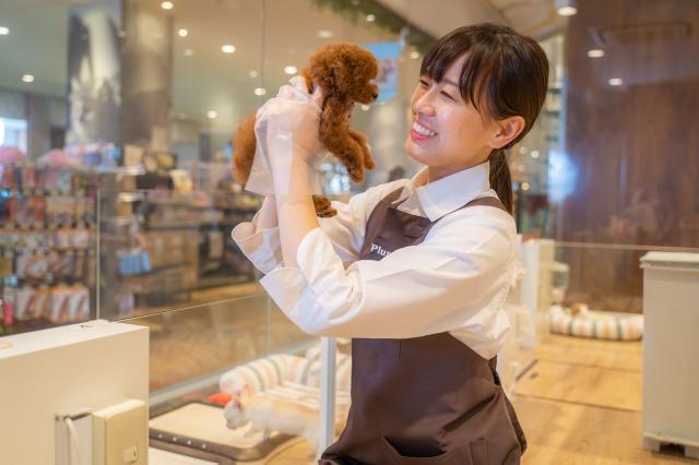子犬や子猫のお世話も大切なお仕事!愛情を持って育ててあげてください。