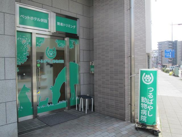 病院の入口