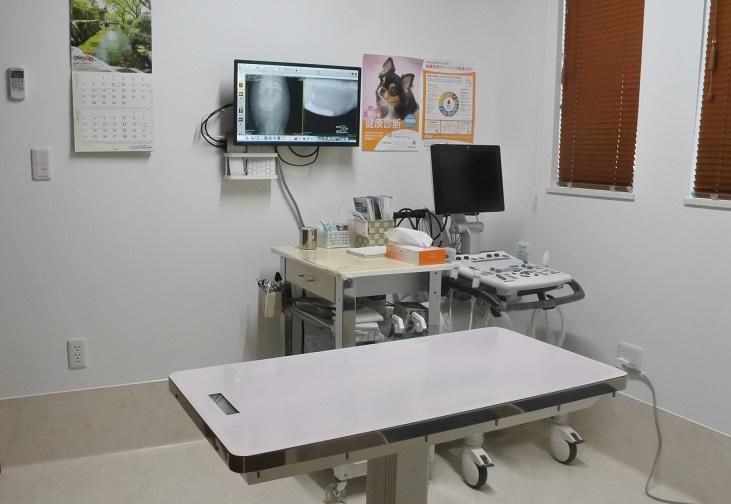 診察室3(エコー検査対応)です。診察室は1~3まであります。