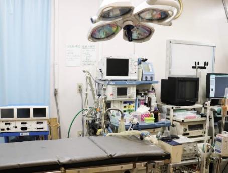 ☆オペ室 最新麻酔器・電気メス・内視鏡等設備