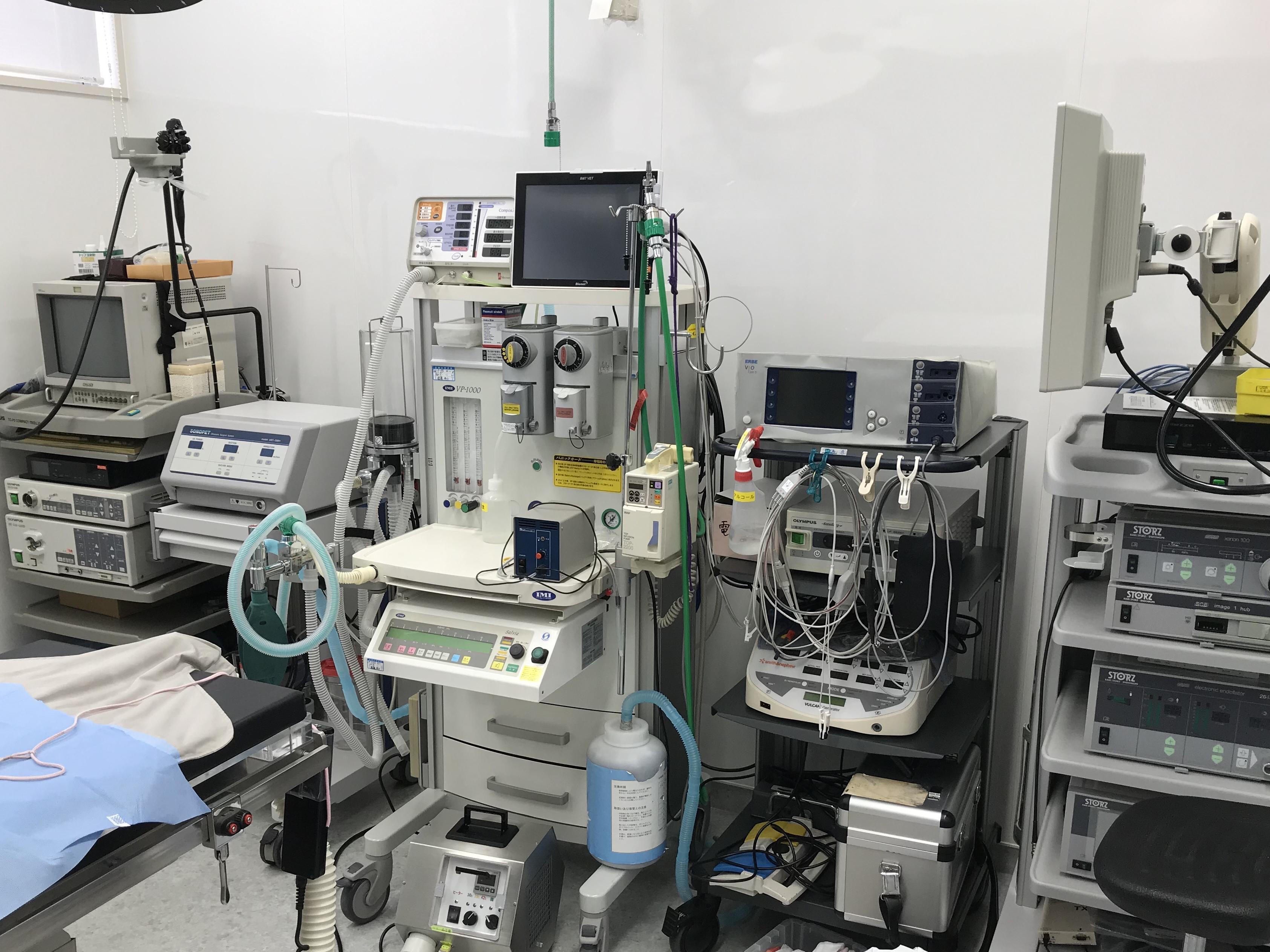 麻酔器および手術器具