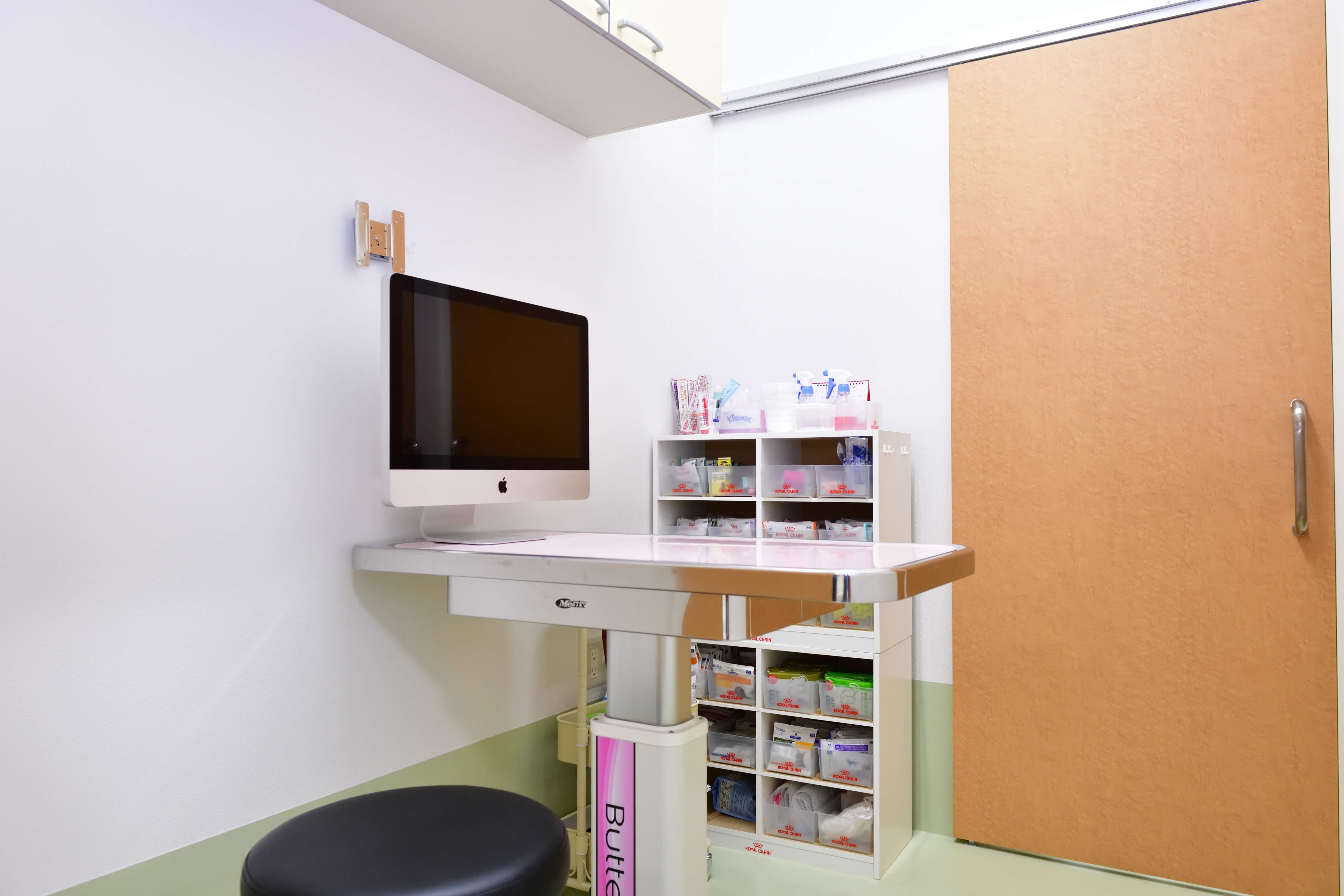 きれいな診察室です。
