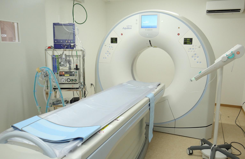 当院の32スライスCT検査装置です。