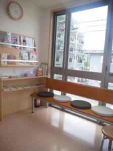 2階猫専用待合室です