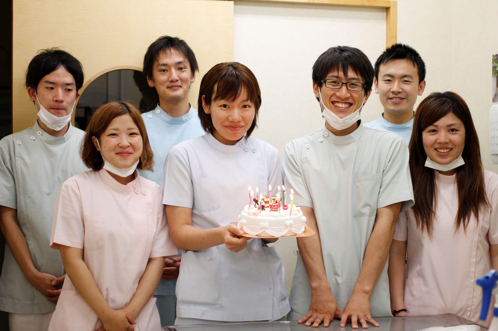 スタッフの誕生日!